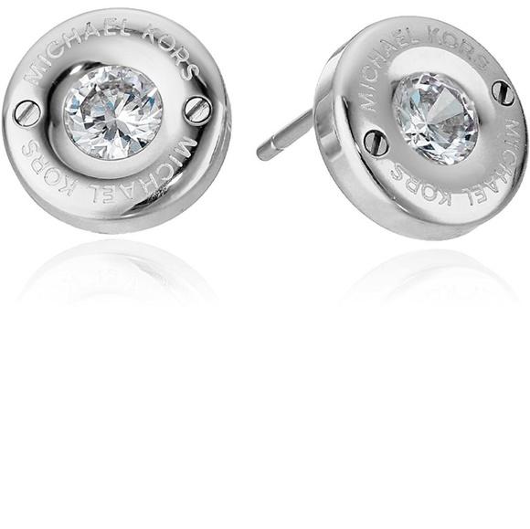 fd1a2e42b Michael Kors Jewelry   Iconic Stainless Steelcz Studs   Poshmark